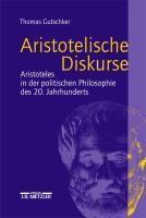 Aristotelische Diskurse