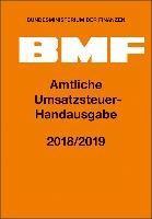 Amtliche Umsatzsteuer-Handausgabe 2018/2019