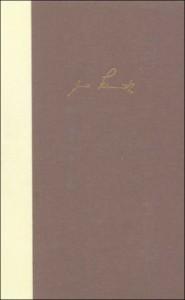Bargfelder Ausgabe. Werkgruppe IV, Band 3: Das Spätwerk