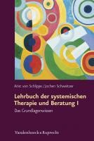 Lehrbuch der systemischen Therapie und Beratung 1