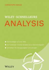 Wiley-Schnellkurs Analysis