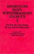 Handbuch der baden-württembergischen Geschichte III
