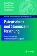 Patentschutz und Stammzellforschung