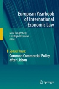 Common Commercial Policy after Lisbon