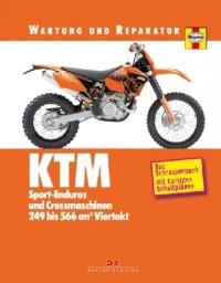 KTM Sport-Enduros und Crossmaschinen 249 bis 566 cm³ Viertakt