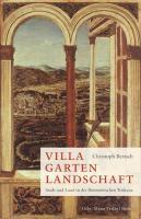 Villa Garten Landschaft