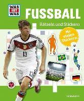 Rätseln und Stickern: Fußball