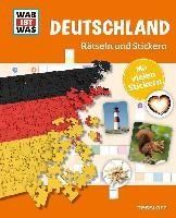 Rätseln und Stickern: Deutschland