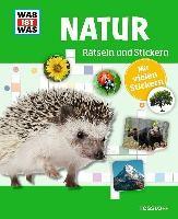 Rätseln und Stickern: Natur