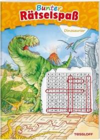 Bunter Rätselspaß Dinosaurier ab 7 Jahren