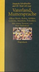 Vaterland Muttersprache