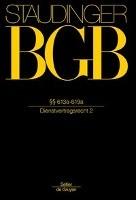 BGB §§ 613a-619a (Dienstvertragsrecht 2)