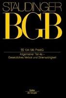 BGB §§ 134-138. (Allgemeiner Teil 4a)
