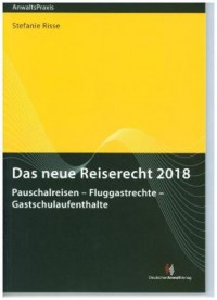 Das neue Reiserecht 2018