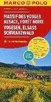MARCO POLO Karte Frankreich Vogesen, Elsass, Schwarzwald 1:200 000