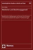 Mediation und Beziehungsgewalt