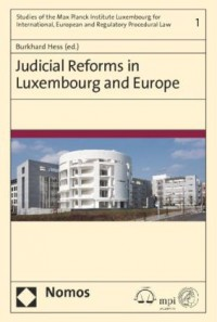 Judicial Reforms in Luxembourg and Europe