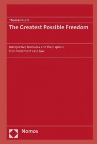 The Greatest Possible Freedom
