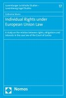 Individual Rights under European Union Law