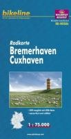 Bikeline Radkarte Deutschland Bremerhaven Cuxhaven 1 : 75 000