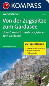 Von der Zugspitze zum Gardasee, Weitwanderführer