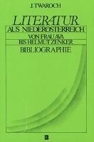 Literatur aus Niederösterreich. Von Frau Ava bis Helmut Zenker