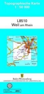 Weil am Rhein 1 : 50 000