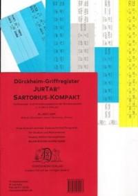 SARTORIUS KOMPAKT Dürckheim-Griffregister Nr. 2573 (2019)