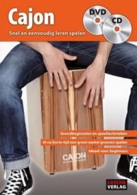 Cajon - Snel en eenvoudig leren spelen + CD + DVD