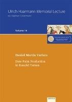 Varisco, D: Date Palm Production in Rasulid Yemen