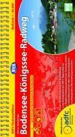 ADFC Radreiseführer Bodensee - Königssee Radweg 1 : 50 000