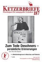Hoevels, F: Zum Tode Deschners - persönliche Erinnerungen