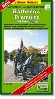 Radwander- und Wanderkarte Rathenow, Premnitz und Umgebung 1 : 35 000