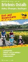 Rad- und Wanderkarte Erlebnis Ostalb Aalen, Ellwangen, Bopfingen 1 : 50 000