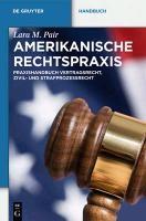 US-Rechtspraxis