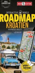 Strassenkarte Kroatien 1:450 000