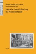 Empirische Unterrichtsforschung und Philosophiedidaktik. Jahrbuch für Didaktik der Philosophie und Ethik 2008