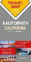 Reisekarte Kalifornien