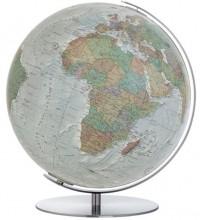 Duo Alba Globe - Voet en meridiaan zijn van edelstaal