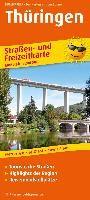 Thüringen. Straßen- und Freizeitkarte 1: 20 0000