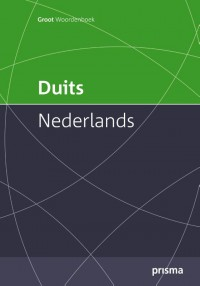 Prisma groot woordenboek Duits-Nederlands