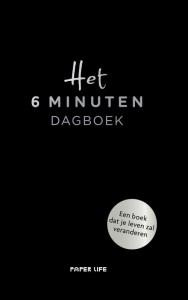 Het 6 minuten dagboek - zwarte editie