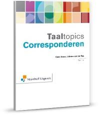 Taaltopics Corresponderen