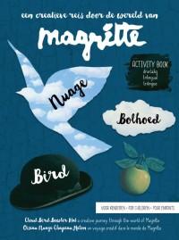Magritte - vogel wolk bolhoed