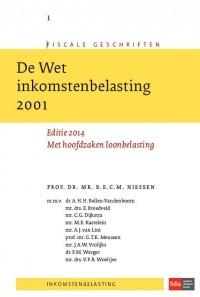 Fiscale geschriften De Wet Inkomstenbelasting 2001.