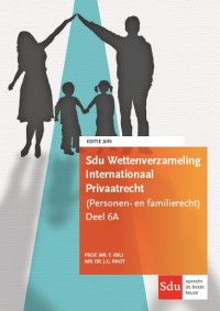 Sdu Wettenverzameling Internationaal Privaatrecht (Personen- en Familierecht)