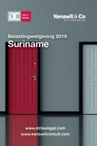 Belastingwetgeving 2019 Suriname