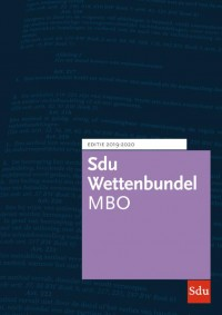 Sdu Wettenbundel MBO 2019-2020