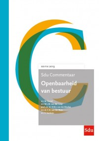 SDU Commentaar Openbaarheid van Bestuur 2019-2020