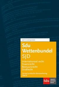 Sdu Wettenbundel Sociaal Juridische Dienstverlening 2019-2020 (set 2 ex)